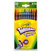 Crayola Twistables Coloured Pencils 10 Pack